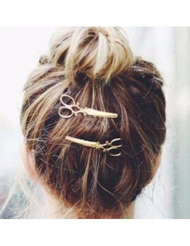 Broche à cheveux ciseaux Vintage